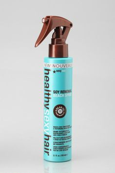 Healthy Sexy Hair Soy Renewal Beach Spray -- Contains argan oil and builds body, volume, and texture. #urbanoutfitters