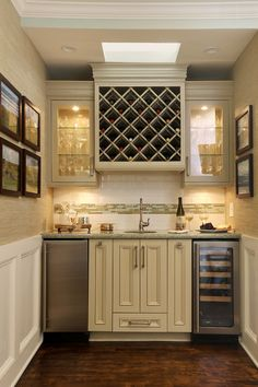 Find This Pin And More On Raise The Bar. Wet Bar Design Ideas ...