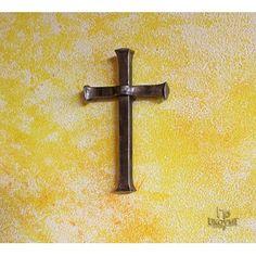 Handgeschmiedetes Kreuz