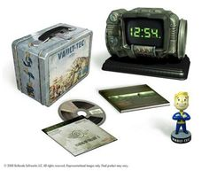 I found 'Fallout 3  survival edition with pipboy clock' on Wish, check it out!