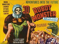 El señor de los bloguiños: Robot Monster (1953) de Phil Tucker
