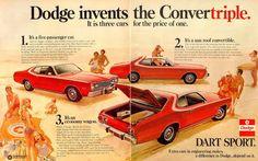 Vintage Dodge Ad