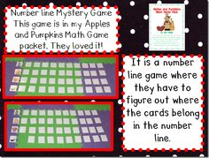 We can use the number cards from the Thanksgiving unit!  Only go to 30 for the Kinders, but to 100 for the firsties.