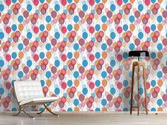 Design #Tapete Tausend Ballons