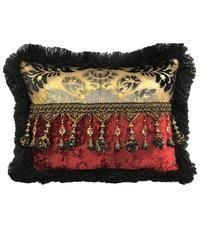 Accent Pillows | Throw Pillows | Reilly-Chance Collection | Reilly-Chance Collection Best Pillow, Perfect Pillow, Accent Pillows, Throw Pillows, Red Decorative Pillows, Pillow Room, Gold Pattern, Spinning, Red Black
