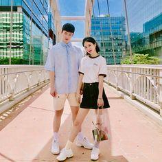 Siwoo and Do Hana A-teen webdrama Korean Celebrities, Hollywood Celebrities, Korean Actors, Ulzzang Couple, Ulzzang Girl, Teen Couples, Cute Couples, Drama Korea, Korean Drama
