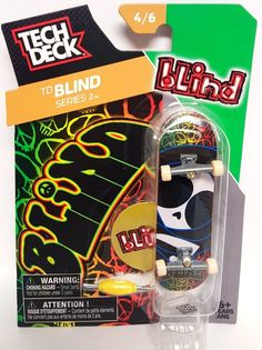 Tech Deck TD Blind Series 2 Alien 4/6 Tech Deck, Blinds, Have Fun, Lunch Box, Big Mac, Skateboards, Decks, Finger, Products