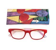 """¿Vista cansada? Disfruta tus lecturas con estas gafas inspiradas en """"Mujer en un sillón (Françoise Gilot)"""" de la #ColecciónMPM"""