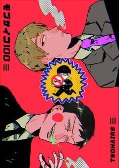 Reigen, Shigeo, and Ekubo #smoking