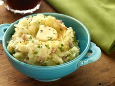 Irish Mashed Potatoes    Fold cabbage, scallions and ham into buttery mashed potatoes to create the traditional Irish favorite colcannon.