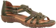 Sanita Sangria Women's Ditte Leather Sandal ^^ Trust me, this is great! Click the image. : Strappy sandals