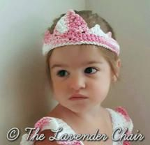 Valerie's Princess Crown Crochet Pattern - The Lavender Chair