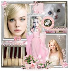 """17/50 Marie - Elle Fanning"" by beautiful-nightmare ❤ liked on Polyvore"