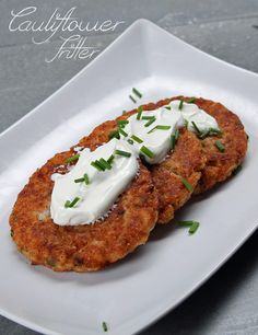 Cauliflower Fritter