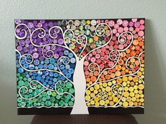 Tree of Life, 5th grade art auction project