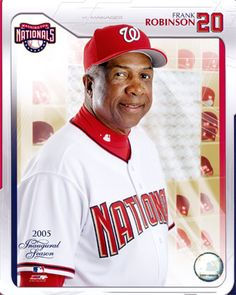Frank Robinson - Born in Beaumont, Texas. American former Major League Baseball outfielder and manager. He played from 1956 to 1976, most notably for the Cincinnati Reds and the Baltimore Orioles. He is the only player to win league MVP honors in both the National and American Leagues. He won the Triple crown, was a member of two teams that won the World Series (the 1966 & 1970 Baltimore Orioles), and amassed the fourth-most career home runs at the time of his retirement (he is currently…