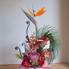 Flower Synergy - Tropical Arrangement - Irvine, CA, United States