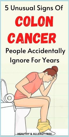 5 Unusual Signs Of Colon Cancer That A Lot Of People Accidentally Ignore For Years Severe Cough Remedies, Stress And Health, Mental Health, Exercise To Reduce Thighs, Healthy Lifestyle Habits, Colon Cancer, Self Care Activities, Healthy Aging, Health Facts