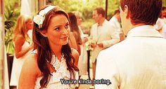 """She tells it like it is. 