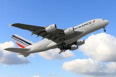 A Air France possui 10 jatos Airbus A380 e espera por mais dois exemplares (Air France)