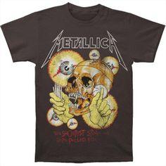 Metallica Vintage Shortest Straw T-shirt