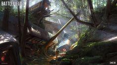 ArtStation - Battlefield 1 | Concept Art | 2016, Robert Sammelin