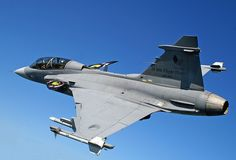 The Saab JAS 39 Gripen is a fourth-generation lightweight multi-role combat aircraft designed by Industrigruppen JAS, FMV and manufactured by the Swedish aerospace company Saab to replace the Saab 35 Draken and 37 Viggen in the Swedish Air Force. The Gripen uses the latest technologies having advanced aerodynamic layout able to perform various missions, such as air defense, interception, ground attack, reconnaissance and can take off and land on short-strip airfields.