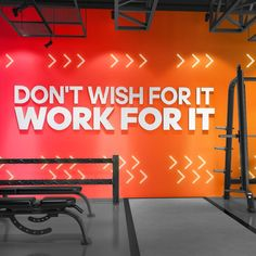 Work for It Signs Gym Wall Art Wall Hangings Gym Decor