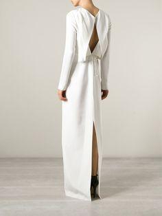 Alexander Wang Pleat Detail Maxi Dress - Bagheera - Farfetch.com
