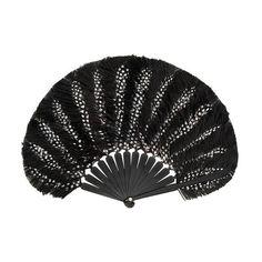 Luxury Polka Hand-Fan by Duvelleroy