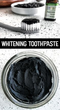 How to mix up your own toothpaste. #HomemadeToothpaste #activatedcharcoal