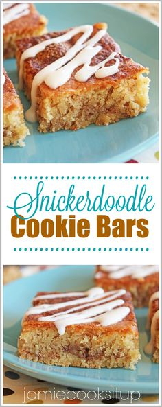 I love a good Cookie Bar recipe and have many favorites in my archives (scroll to the bottom of the post to see a few that we love and make frequently). Cookies in Bar form take so much less time t…