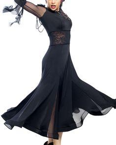 Lumiere Phoenix Ballroom Dance Dress | Dancesport Fashion @ DanceShopper.com