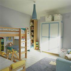 Lilac children's bedroom