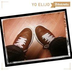 Ale nos acercó sus fotos con zapatillas #Batistella =D ¡Gracias por compartirla! Hacen juego con el piso también =D