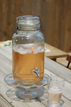Mason Jar Drink Dispenser, $24.99