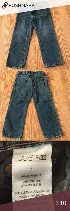 Joe Jeans size 3t good condition. no rips or stains Joe's Jeans Bottoms Jeans
