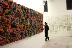 Straw Art Installations - Francesca Pasquali Has Created Incredible 3D Galleries (GALLERY)