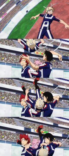 Nice catch Bakugou's Team