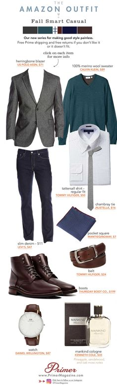 Amazon Outfit Smart Casual Primer Magazine