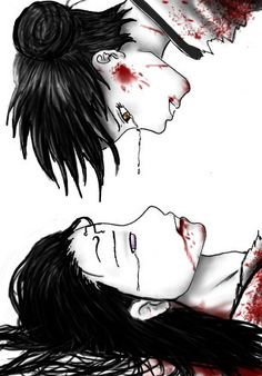Neji and Tenten. I don't even ship them, but still, this picture is beautiful :,(