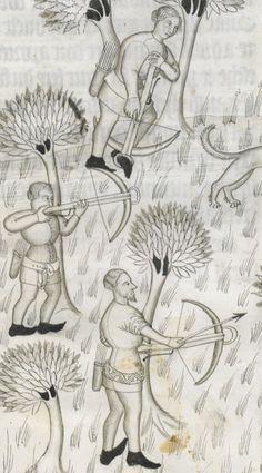 « Le Livre de chasse, que fist le comte FEBUS DE FOYS, seigneur de Bearn ».   Gallica