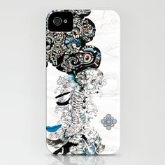 Japan the Beautiful  iPhone Case by ivette