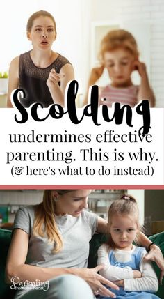 Scolding your children could actually undermine the effectiveness of your parenting. If you could learn how to parent your child without scolding and chastising them would you? These positive disciple techniques will help you. Parenting Styles, Parenting Books, Parenting Advice, Kids And Parenting, Parenting Classes, Parenting Quotes, Peaceful Parenting, Gentle Parenting, Resilience In Children