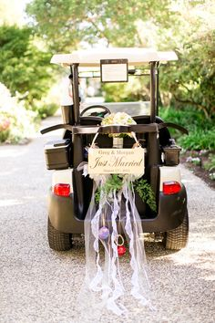 Golf Course Wedding - If I've said it once, I've said it a times, but the backyard wedding really is my favorite (I swear). It's intimate and special and it holds the secret of the bride's girlhood days, which, at le. Golf Wedding, Brunch Wedding, Diy Wedding, Wedding Backyard, Wedding Blog, Wedding Ideas, Golf Swing Analyzer, Trendy Golf, Golf Instructors