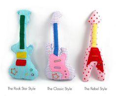 moldes de instrumentos musicais em feltro 4