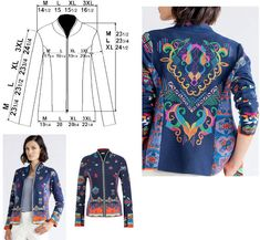 IVKO Ladies VEZ Embroidered Jacket