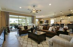 #Pulte homes #Zillow Always a plus....open floor plan. Bridgetown | Fort Myers FL New Homes | Pulte Homes