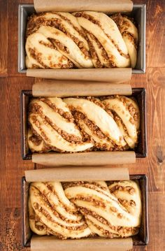 Recipe: Sticky Caramel-Pecan Babka Loaves