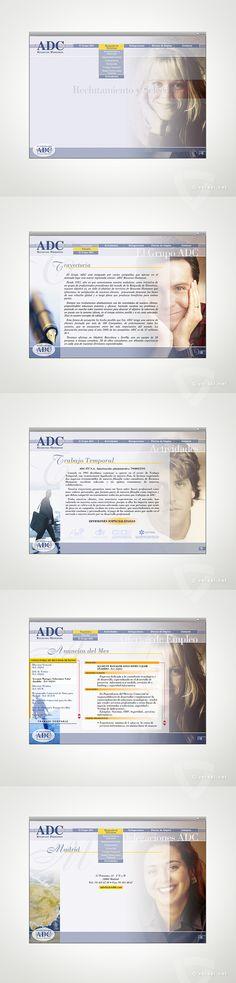ADC Recursos Humanos -   Selección de Personal / Formación / Trabajo Temporal -   (Flash, HTML, JavaScript, XML) -     www.adcrrhh.com • www.versal.net • Diseño Gráfico • Identidad Visual Corporativa • Publicidad • Diseño Páginas Web • Ilustración • Graphic Design • Corporate Identity • Advertising • Web Pages • Illustration • Logo